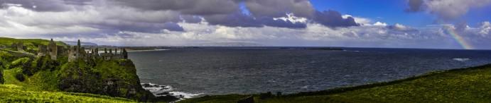 irlanda del nord abbazia panorama