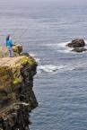 irlanda del nord scogliera pesca