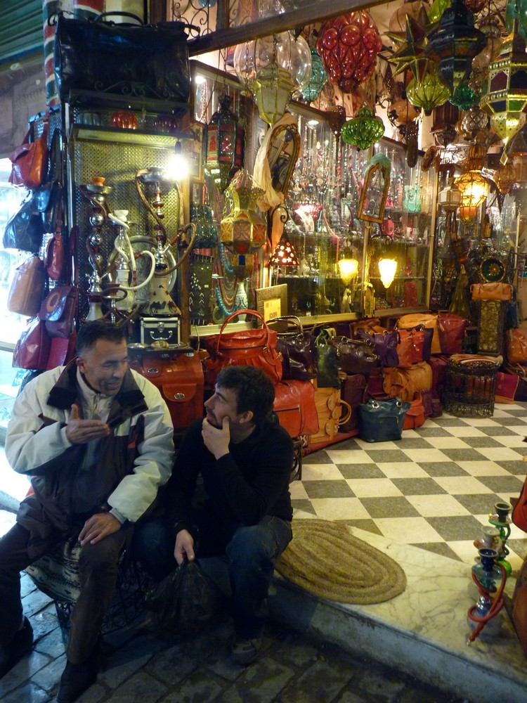 tunisia tunisi medina souk