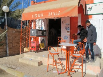 tunisia chapati street food
