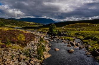 ruscello nelle highlands