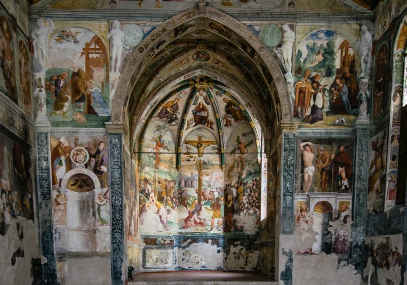 La Chiesa di Sant'Antonio Abate. Nota anche come la Cappella Sistina del Friuli