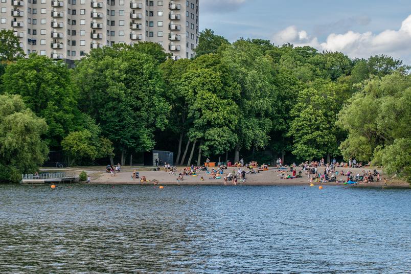 A Stoccolma puoi avere la spiaggia sotto casa