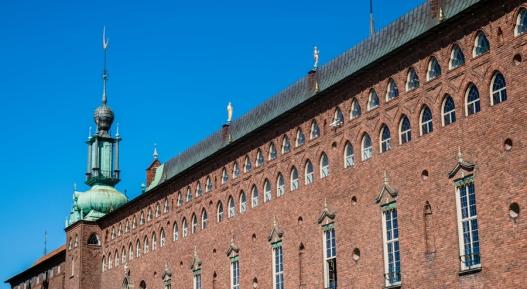 Lo stupendo palazzo del Municipio