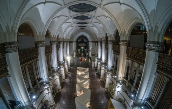 L'interno del Nordiska Museet