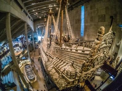 Il Vasa in tutta la sua grandezza