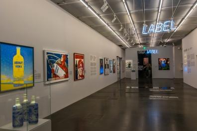 L'interno dello Spritmuseum, dedicato alla vodka Absolute