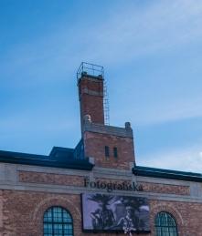 Il museo Fotografiska situato in un ex fabbrica