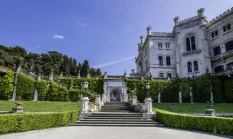 Alcuni scorci del Castello di Miramare