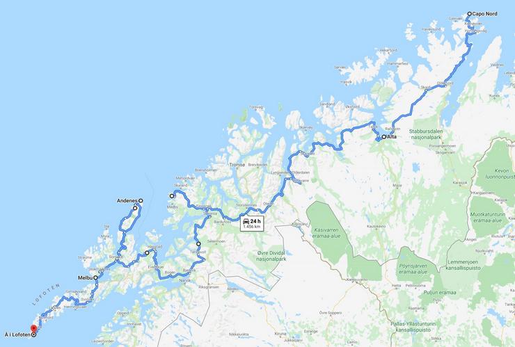 percorso arcipelaghi